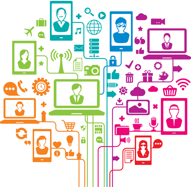 the evolution of social media and technology in relation to writing The evolution of social networking sites: the rise of content-centric  that a  majority of humans have an anxious relationship with technology.